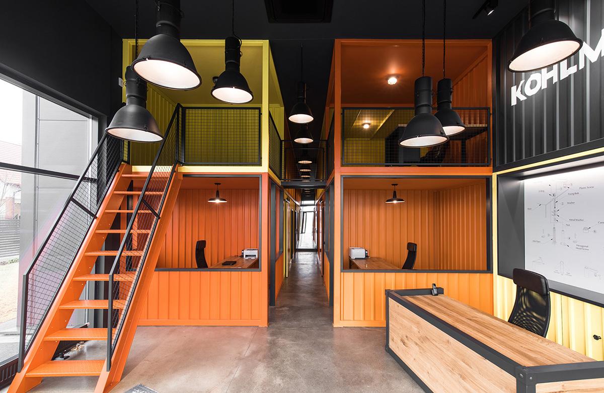 A Look Inside Kohlman's New Cieplewo Office