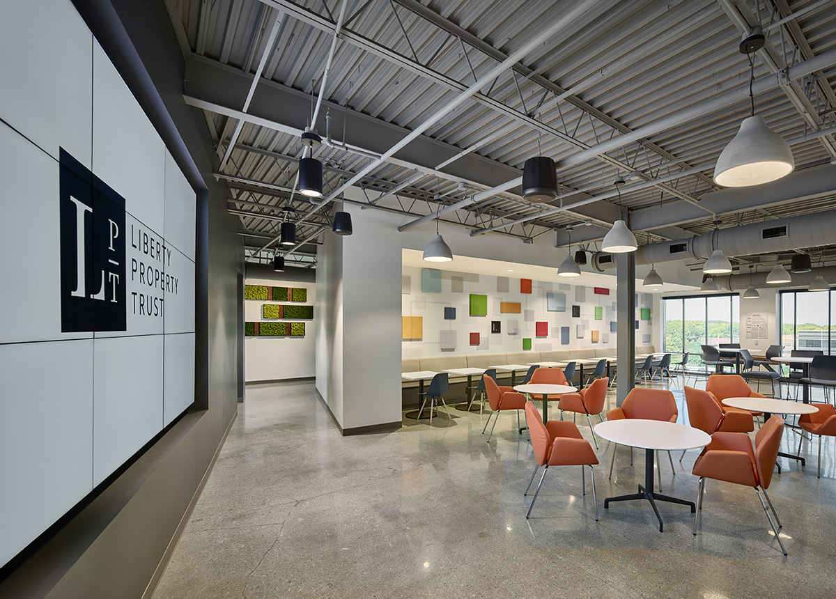 A Tour of Liberty Property Trust's Elegant New Headquarters