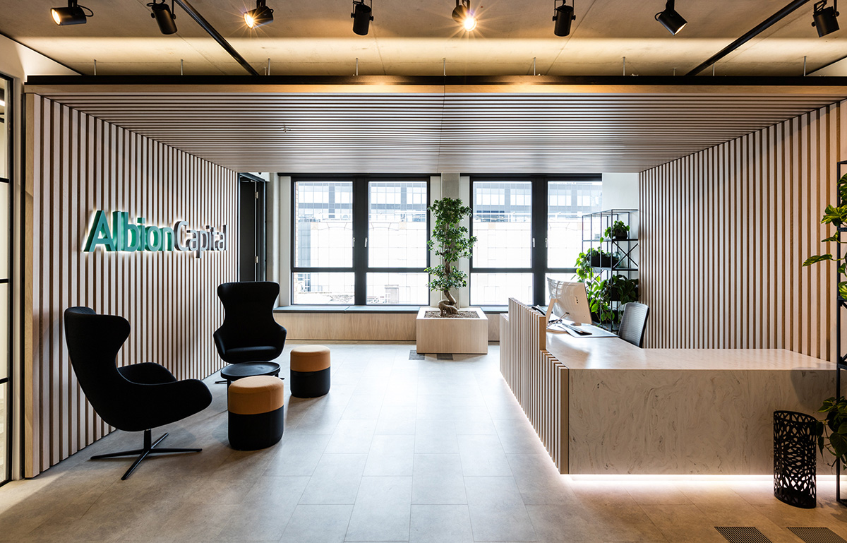 A Tour of Albion Capital's Biophilic London Office