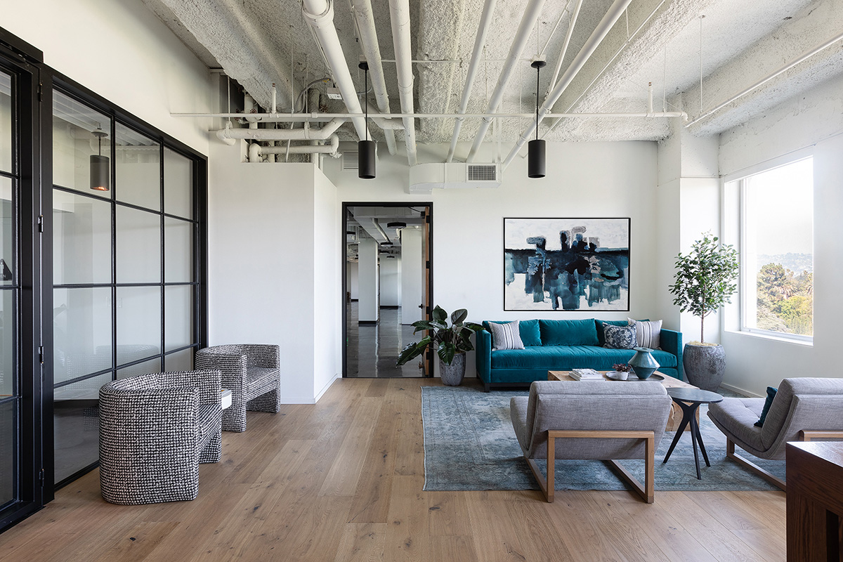 A Look Inside Create Advertising's Modern Los Angeles Office