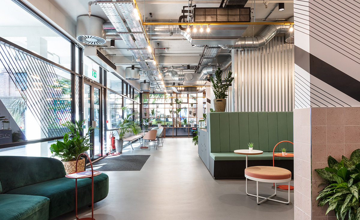 A Tour of Huckletree's Cool New London Coworking Space