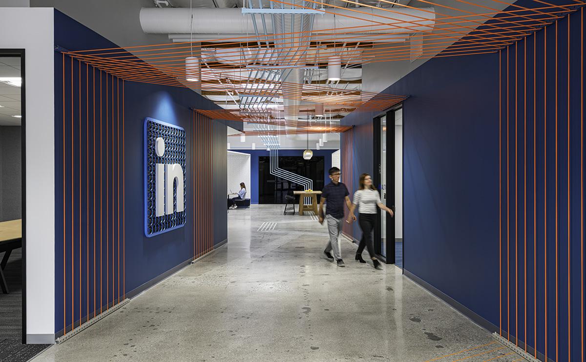 A Tour of LinkedIn's New Sunnyvale Office – Building 645