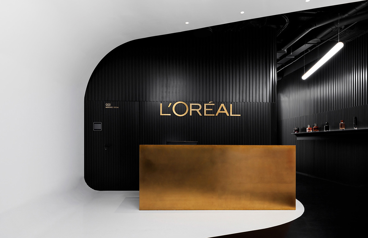A Tour of L'Oréal's Sleek New Moscow Office