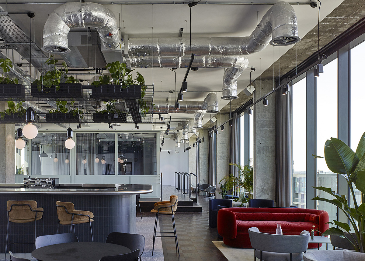 A Tour of Lyric Square Office Building in London