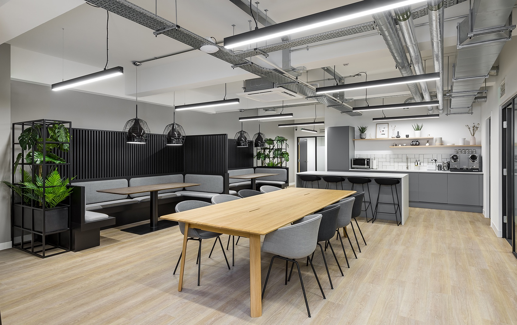 A Look Inside Newman Street's Office Building in London
