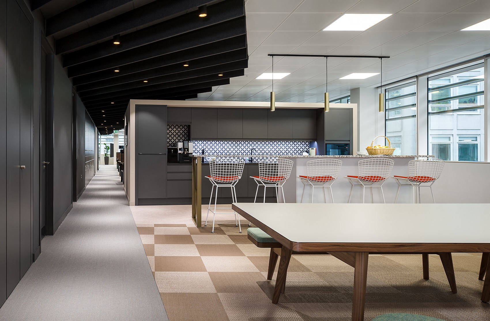 A Look Inside Private Global Equity Investment Firm Offices in London