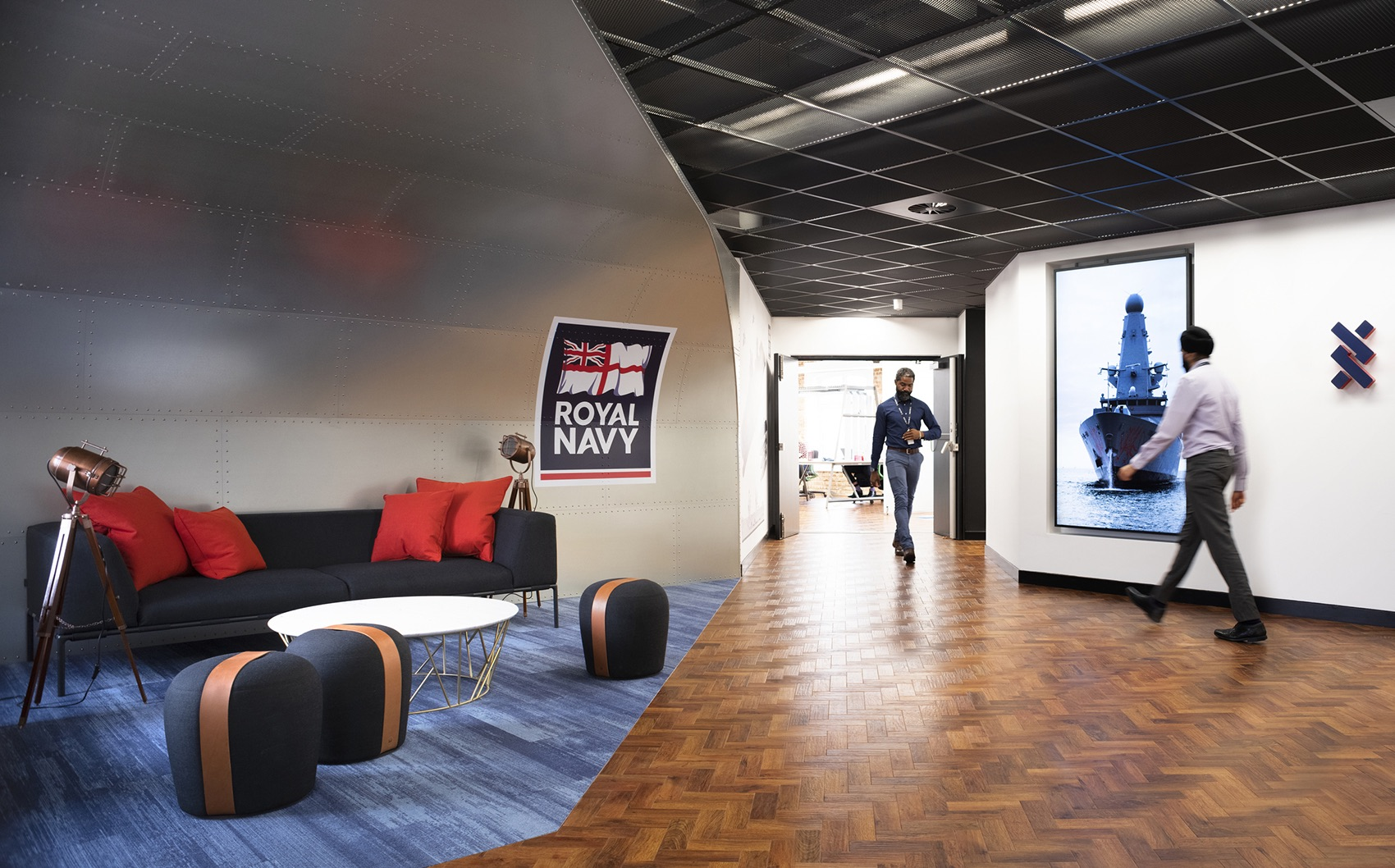 A Tour of Royal Navy's New AI Office in Portsmouth