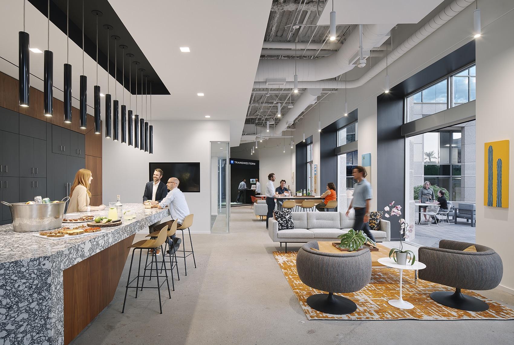 A Look Inside Transwestern's New Phoenix HQ