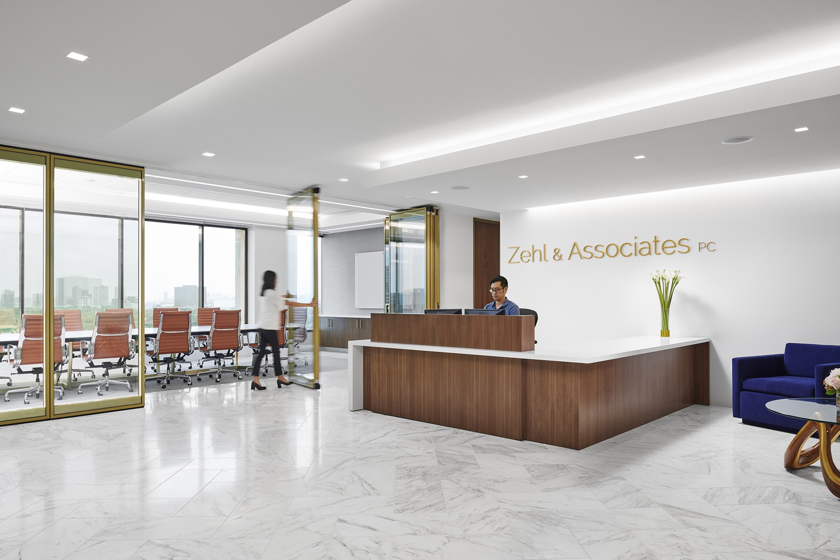 Inside Zehl & Associates' Elegant Houston Office
