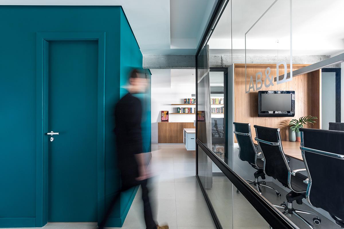A Look Inside AB&D's Elegant Curitiba Office