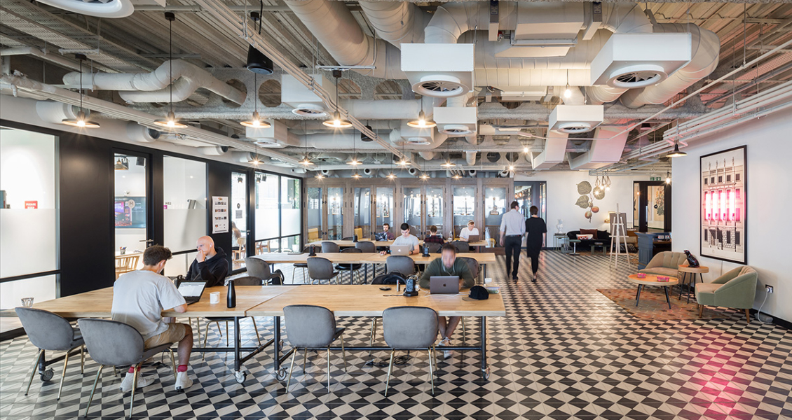 A Tour of Mindspace's New London Coworking Space
