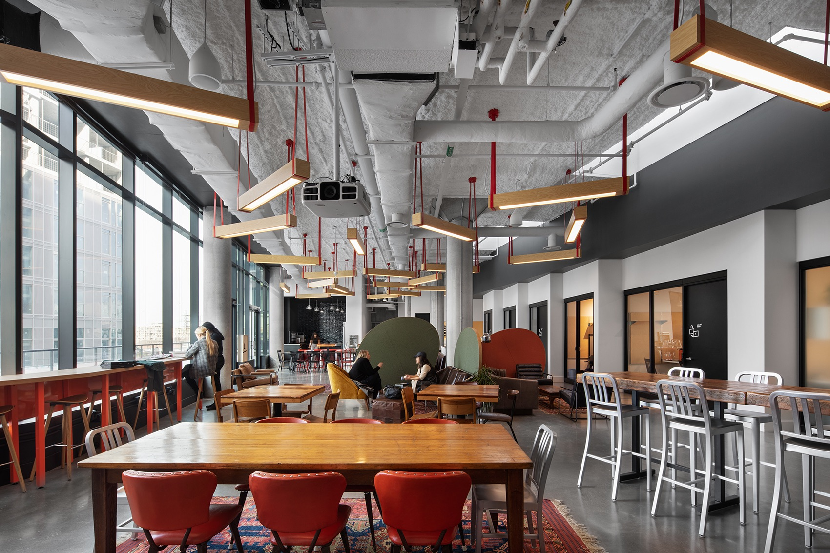 A Tour of Artscape Daniels Launchpad's New Toronto Coworking Space