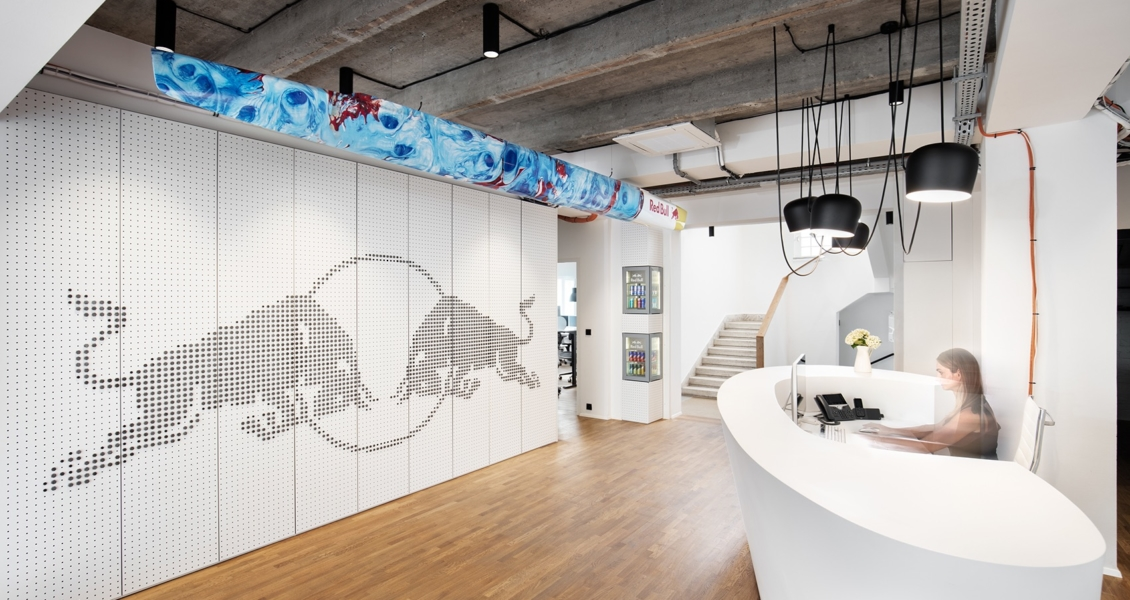 A Tour of Red Bull's Funky New Office in Prague
