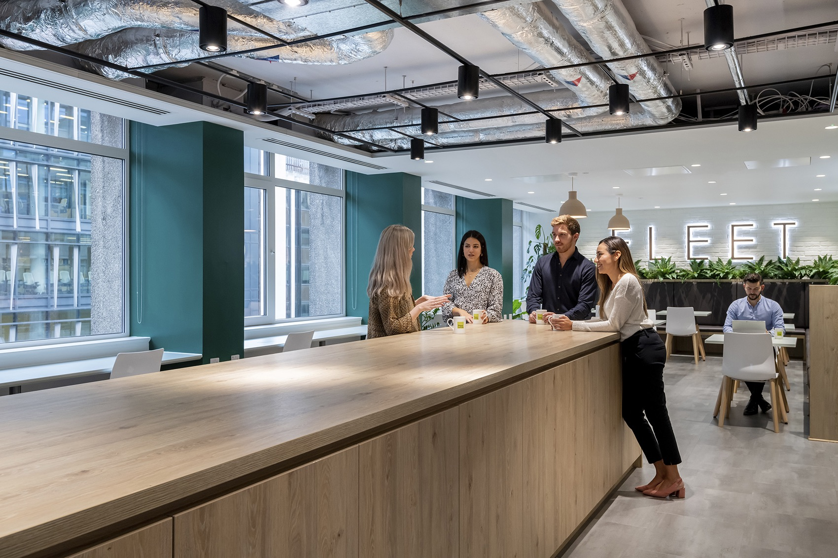 Inside Hogan Lovells's Cool New London Office
