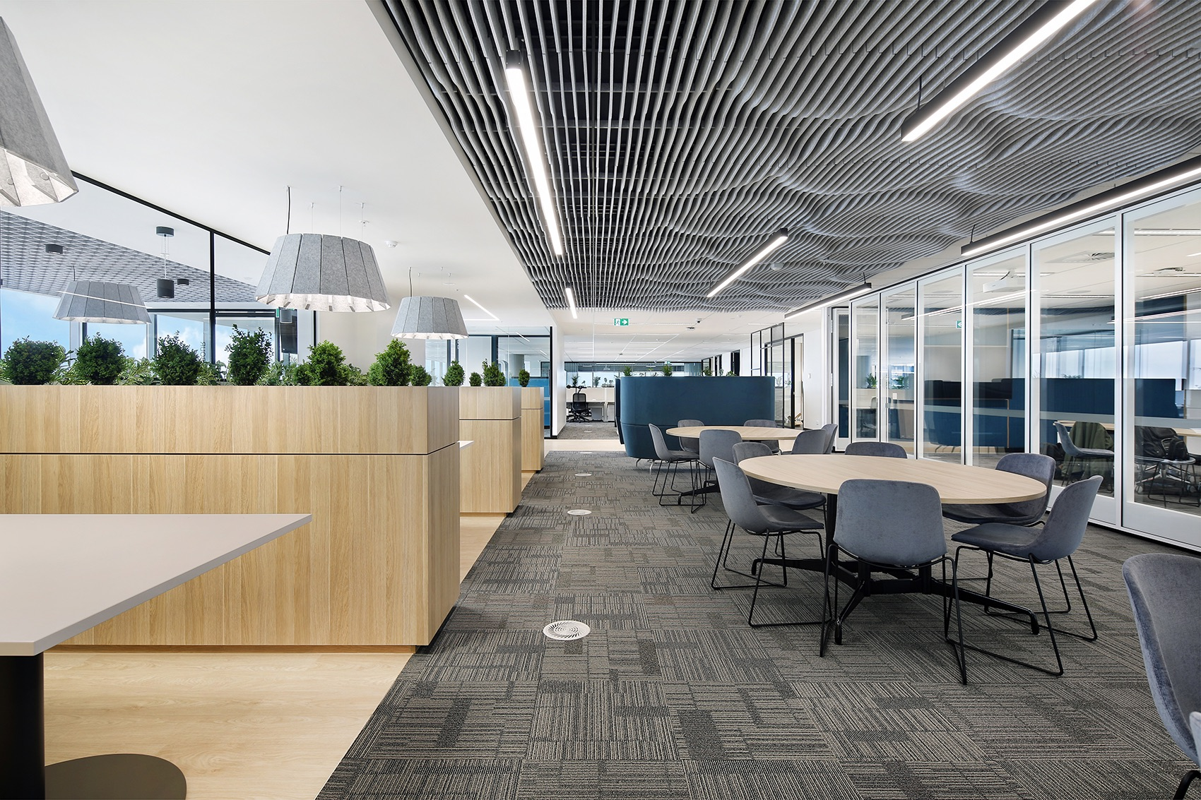 A Look Inside Port of Melbourne's New Melbourne Office