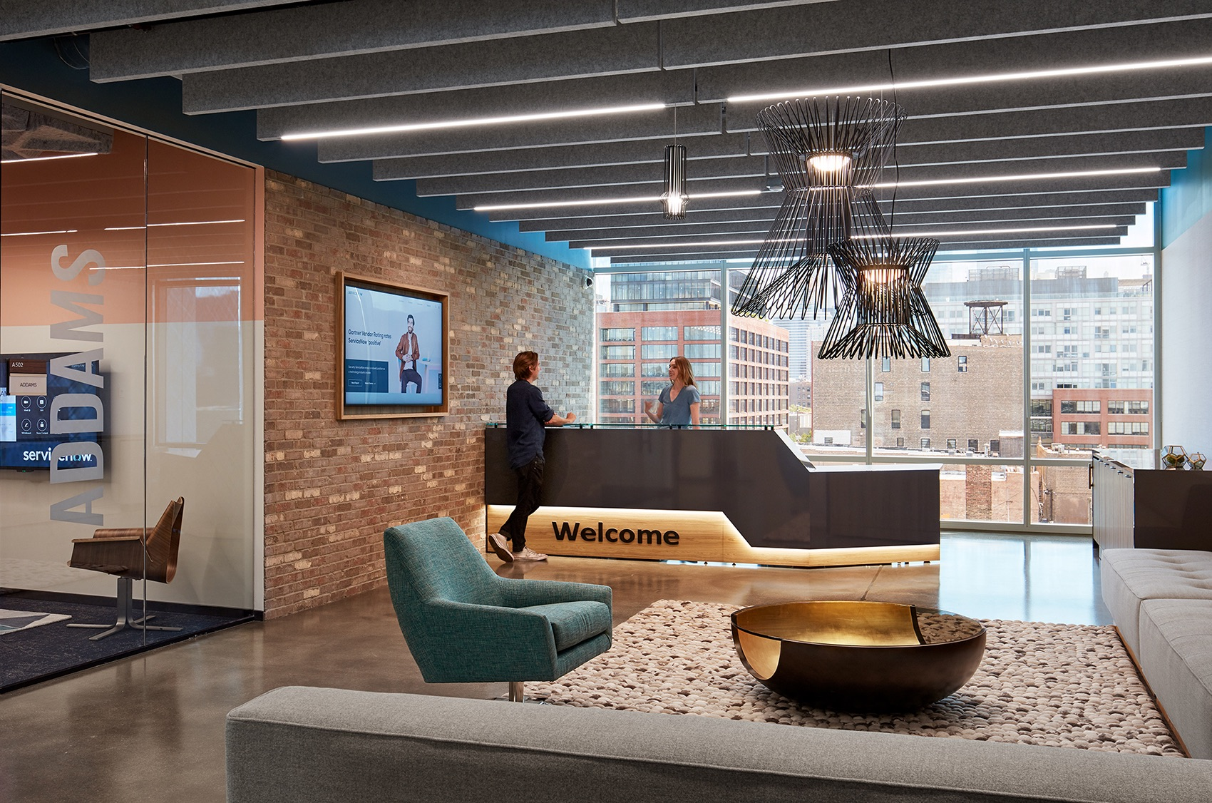 A Look Inside ServiceNow's Sleek New Chicago Office