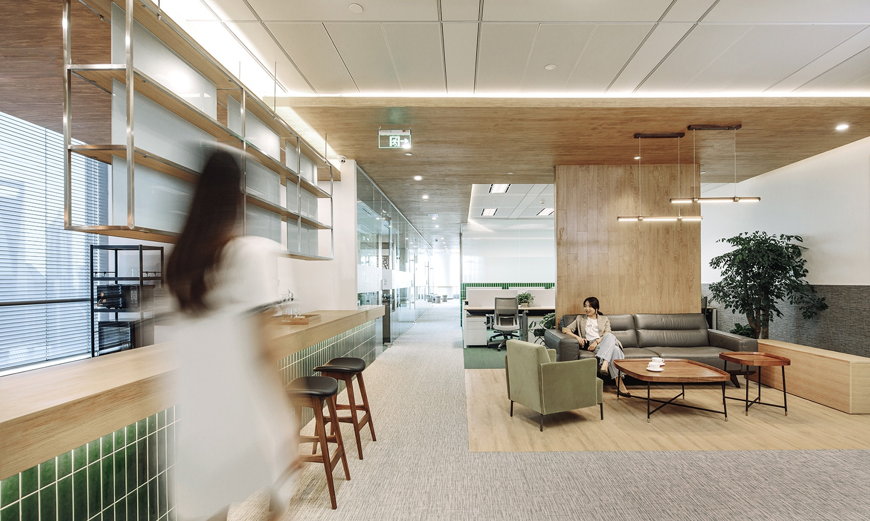 A Tour of Zhihe Partners Lawyers' Elegant Shanghai Office