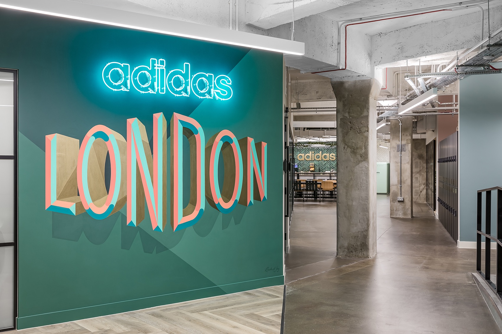 A Look Inside Adidas' Cool New London Office