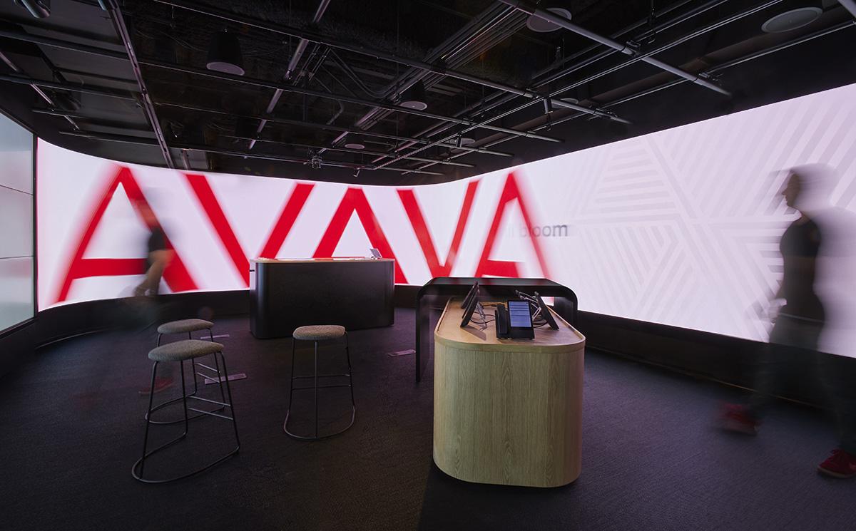 A Look Inside Avaya's New NYC Office