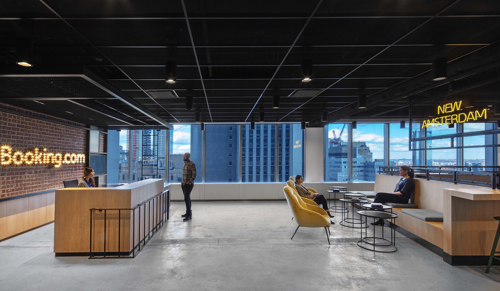 A Look Inside Booking.com's Eclectic NYC Office