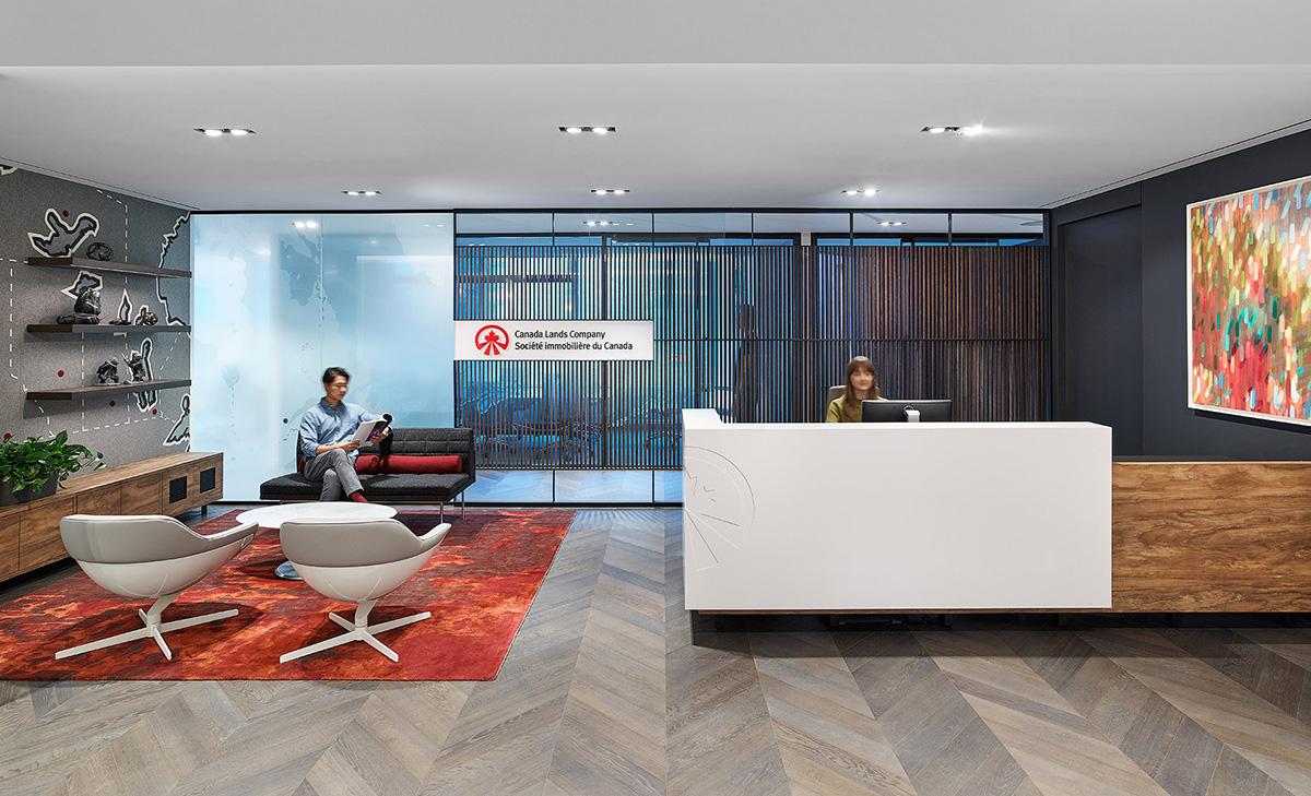 A Peek Inside Canada Lands Company's New Toronto Office