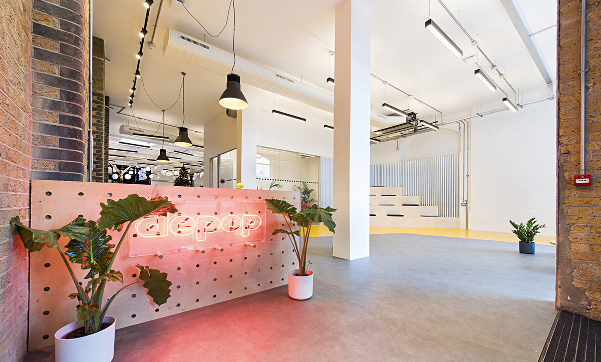 A Tour of Depop's Cool New London Office