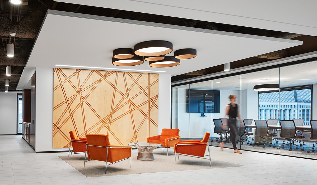 A Tour of Fox Rothschild's Sleek New Chicago Office
