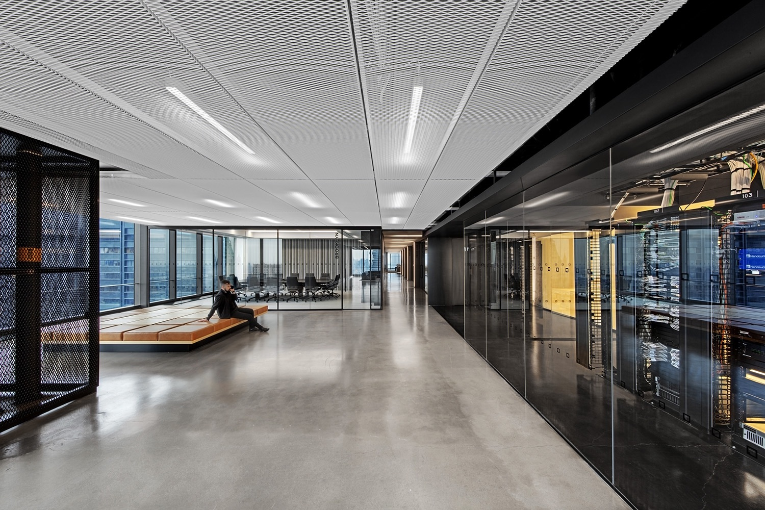 A Tour of IEX Group's Modern New York City Office