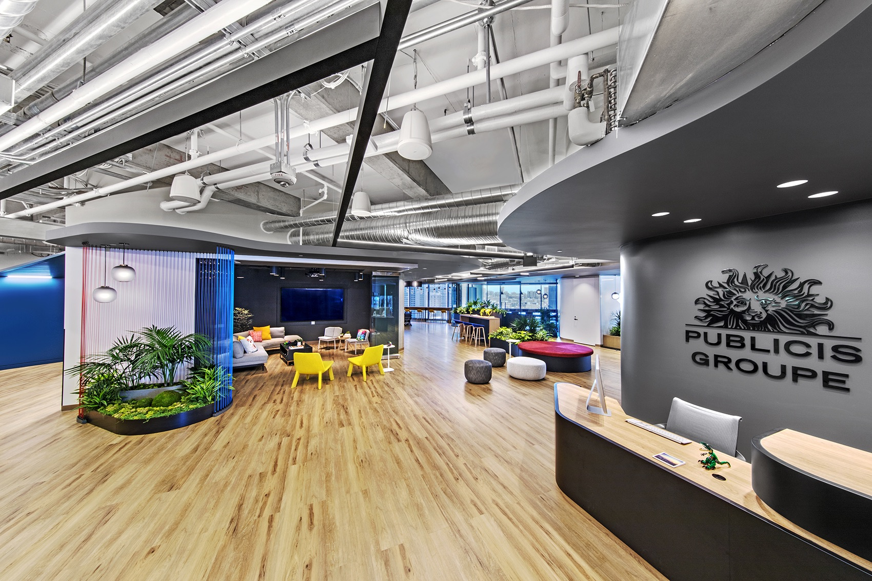 A Tour of Publicis Groupe's Modern San Francisco Office