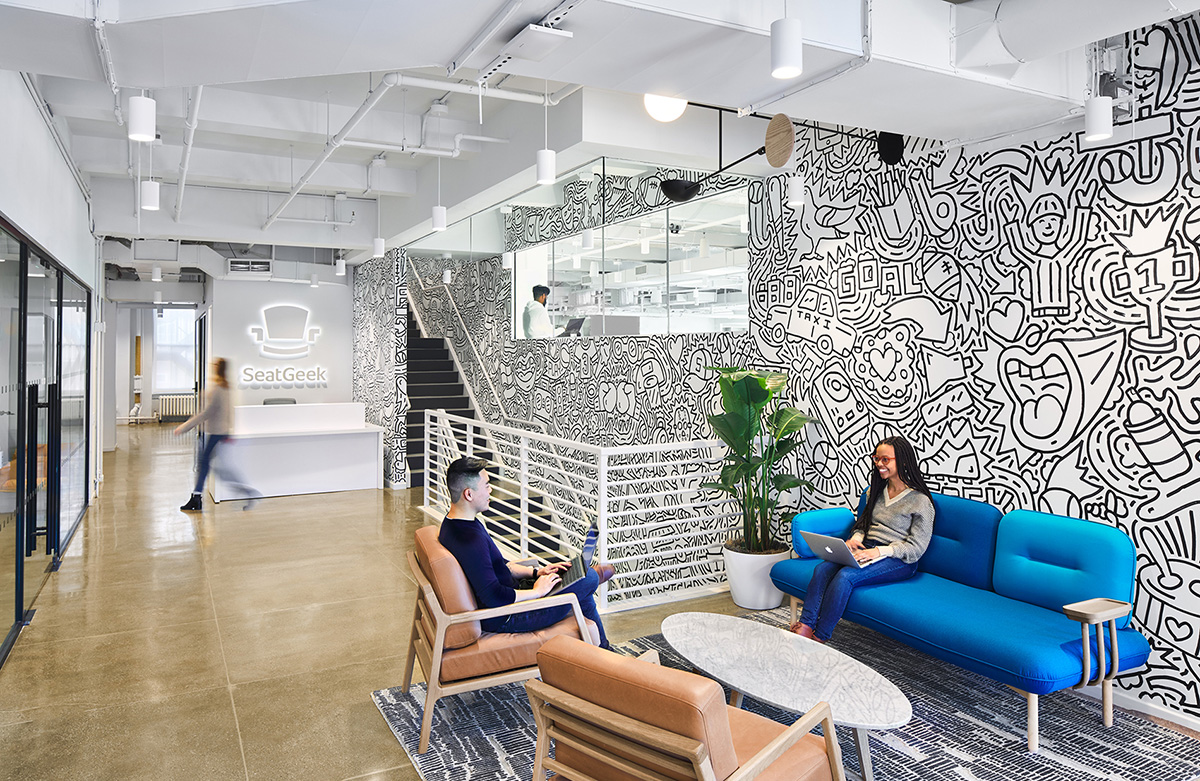 Inside SeatGeek's Sleek New NYC Office