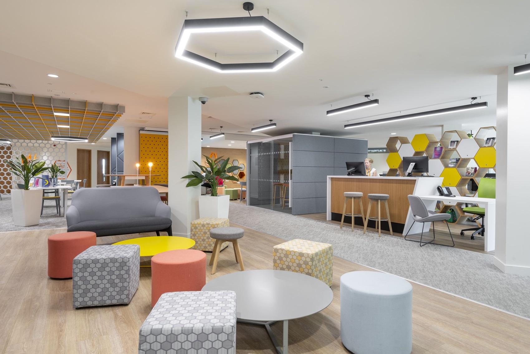 A Peek Inside University of Surrey's Workspace in Guildford