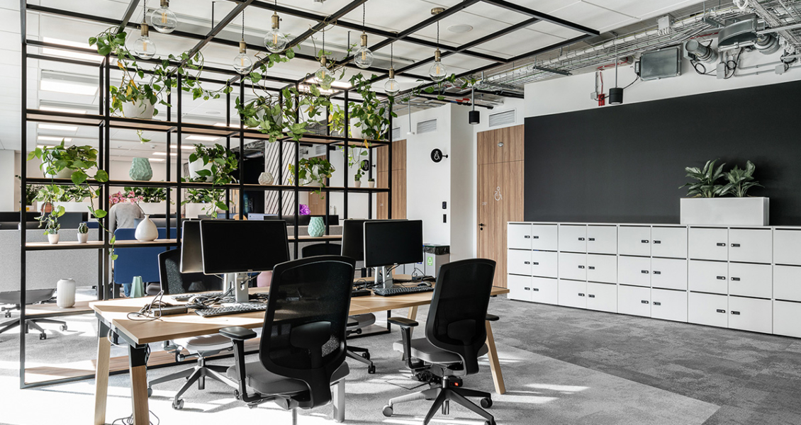 A Tour of UPC's Biophilic Warsaw Office