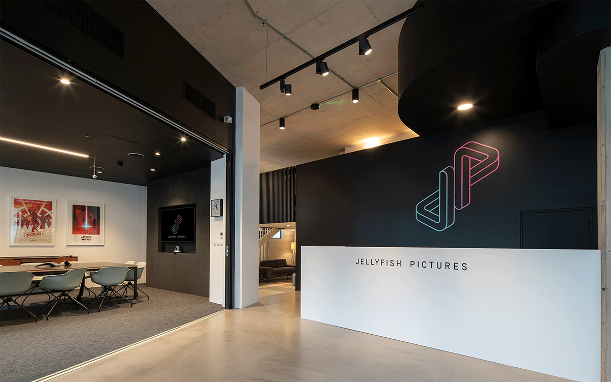A Look Inside Jellyfish Pictures' Sleek New London Office