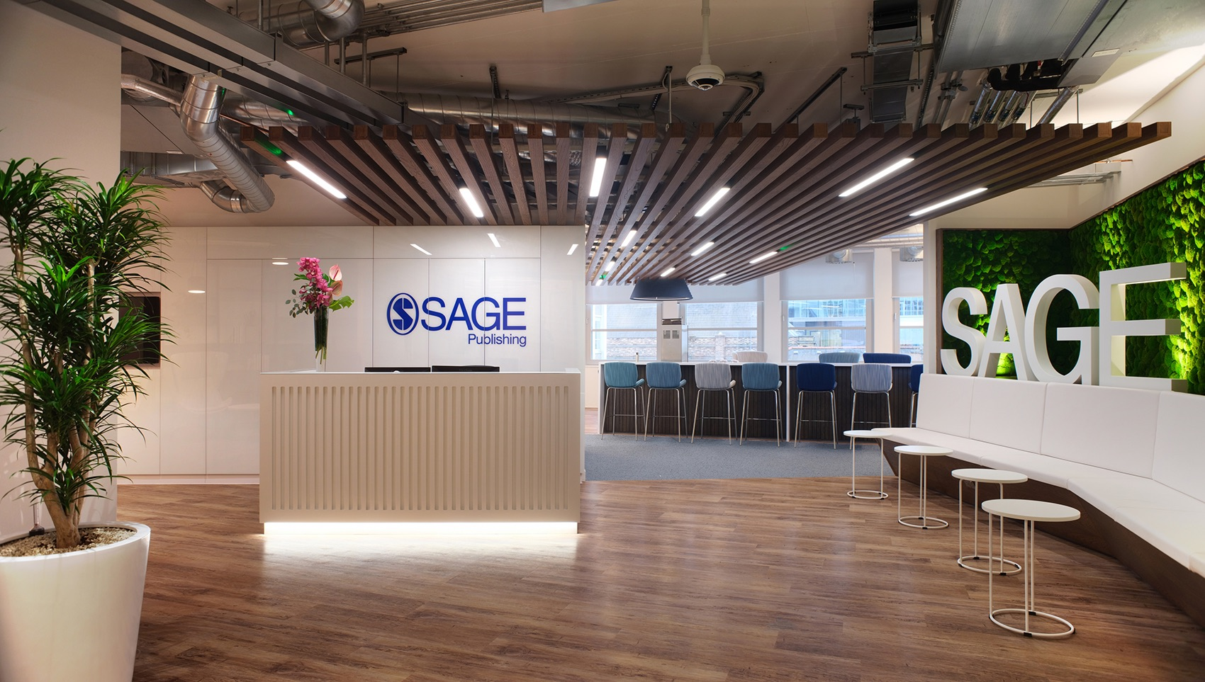 Inside SAGE Publishing's Biophilic London Office