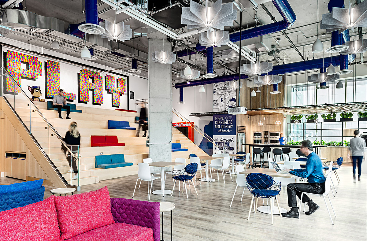 A Tour of Spin Master's Cool New Toronto Office