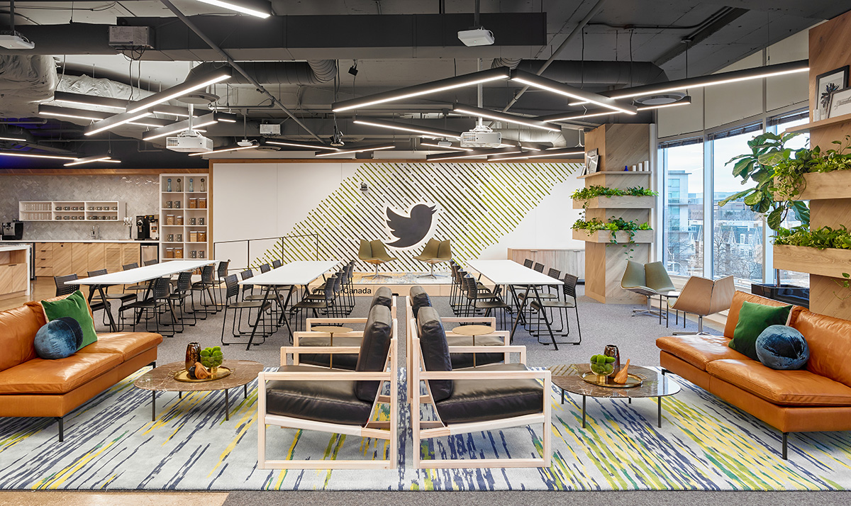 A Tour of Twitter's Biophilic Toronto Office