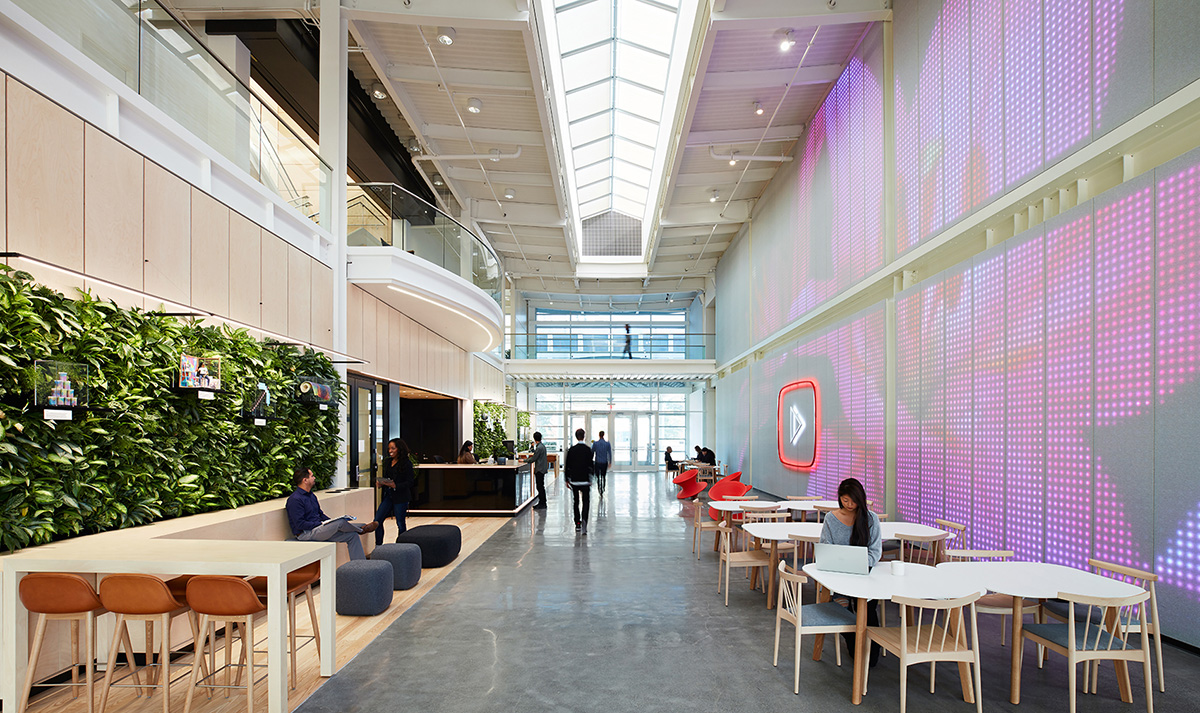A Look Inside Youtube's Modern San Bruno HQ