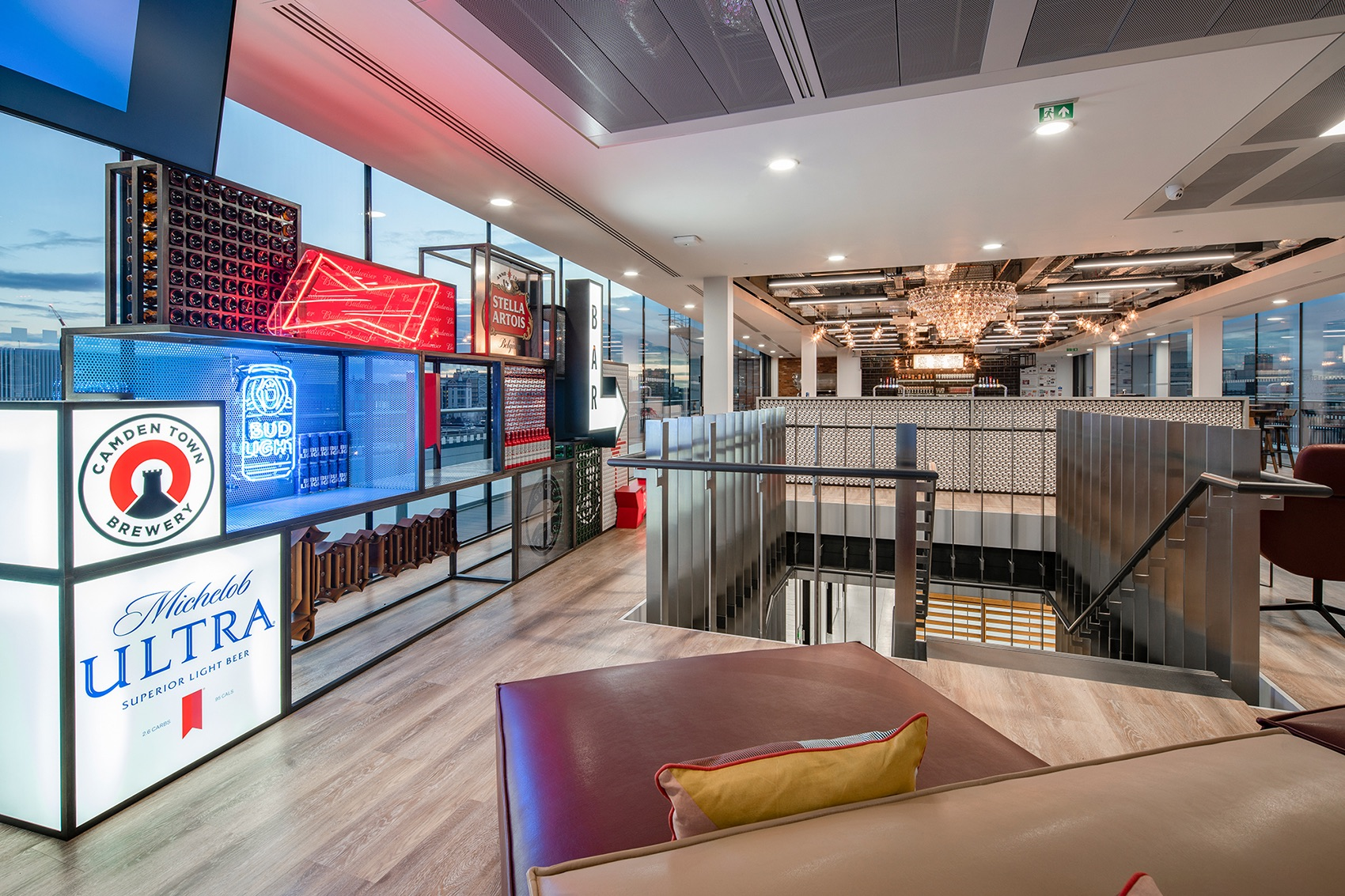 A Look Inside Budweiser Brewing Group's New London Office