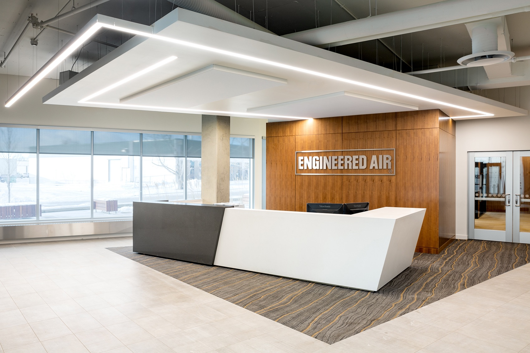 A Look Inside Engineered Air's Modern Calgary Office