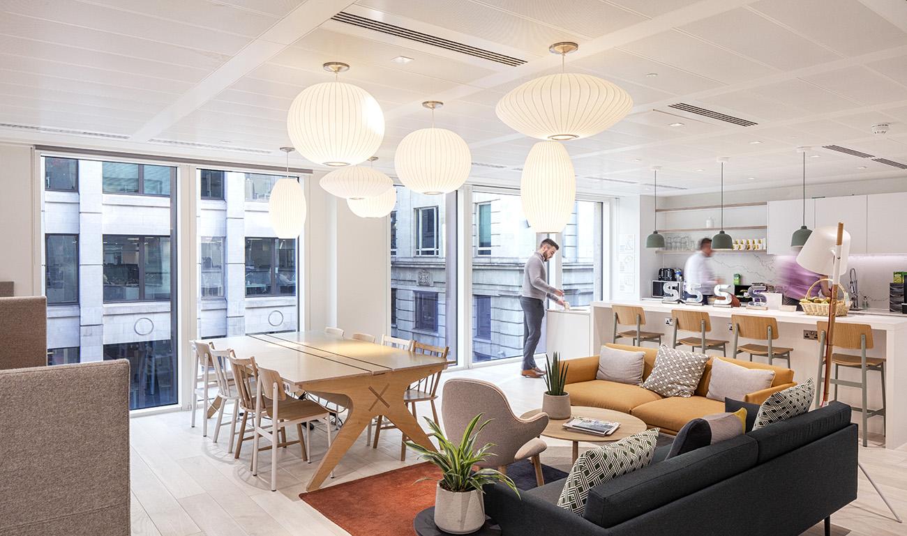 Inside The New Offices of Skanska in London