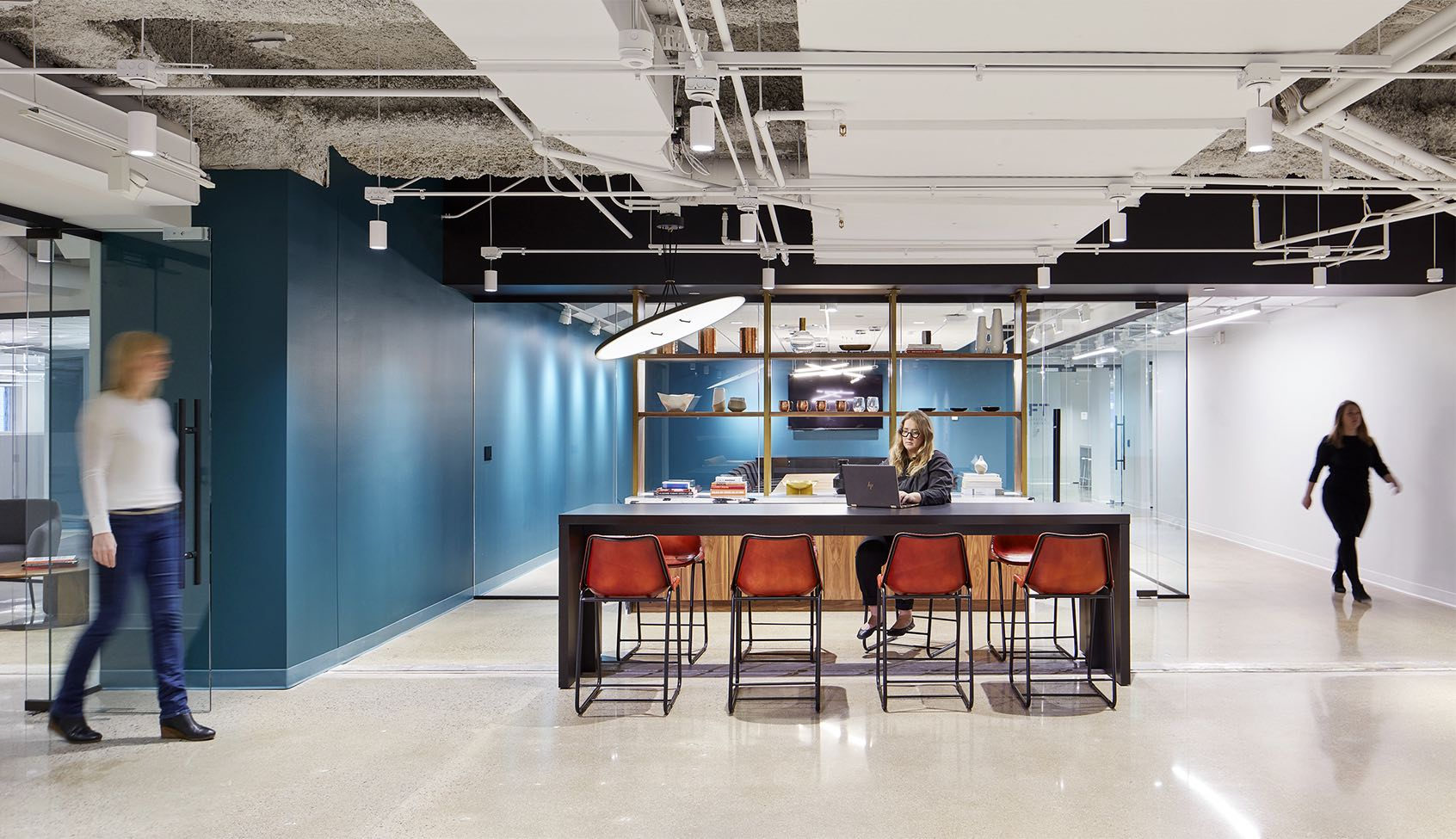 A Look Inside The Baker Center Spec Office Suites in Minneapolis