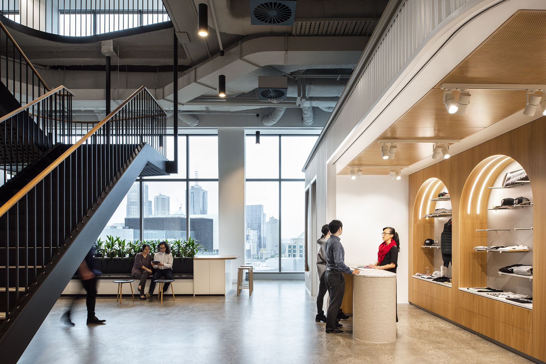 Inside Carlton & United Breweries' New Melbourne Office