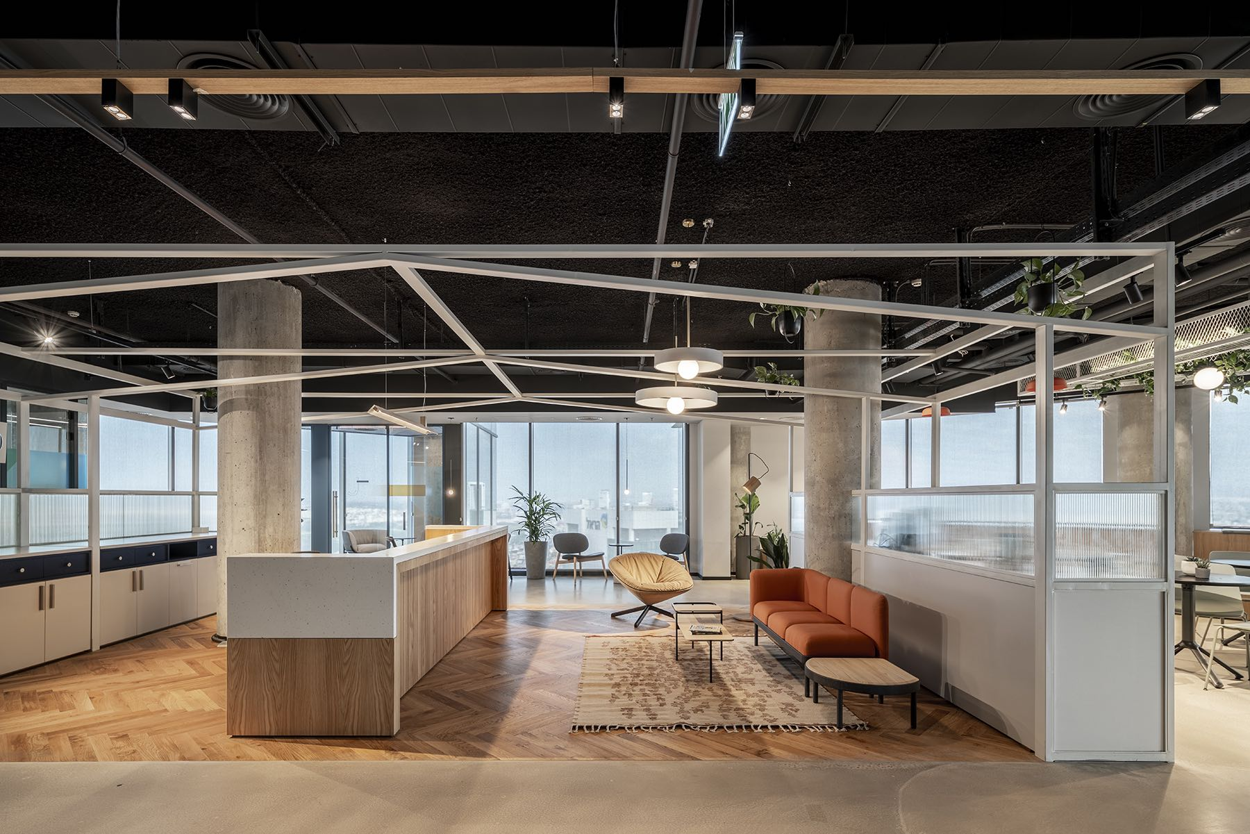 A Tour Of Innovid's Eclectic Tel Aviv Office