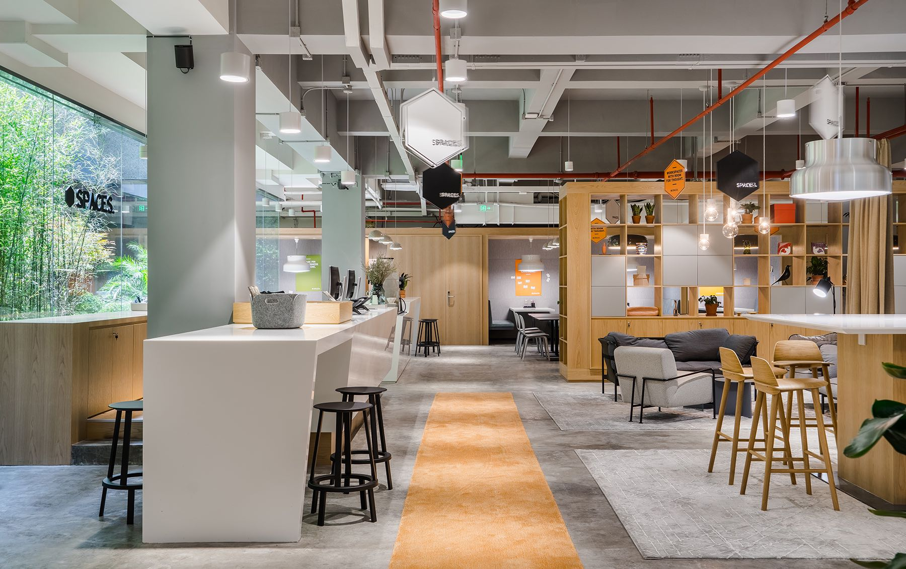A Look Inside Spaces' Shanghai Coworking Space