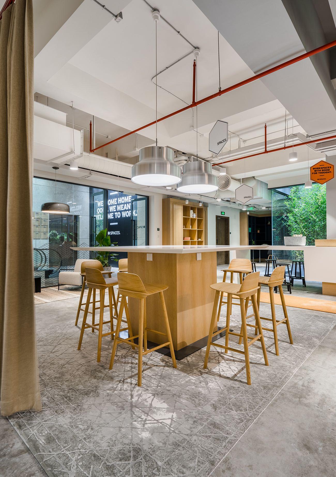 A Look Inside Spaces' Shanghai Coworking Space