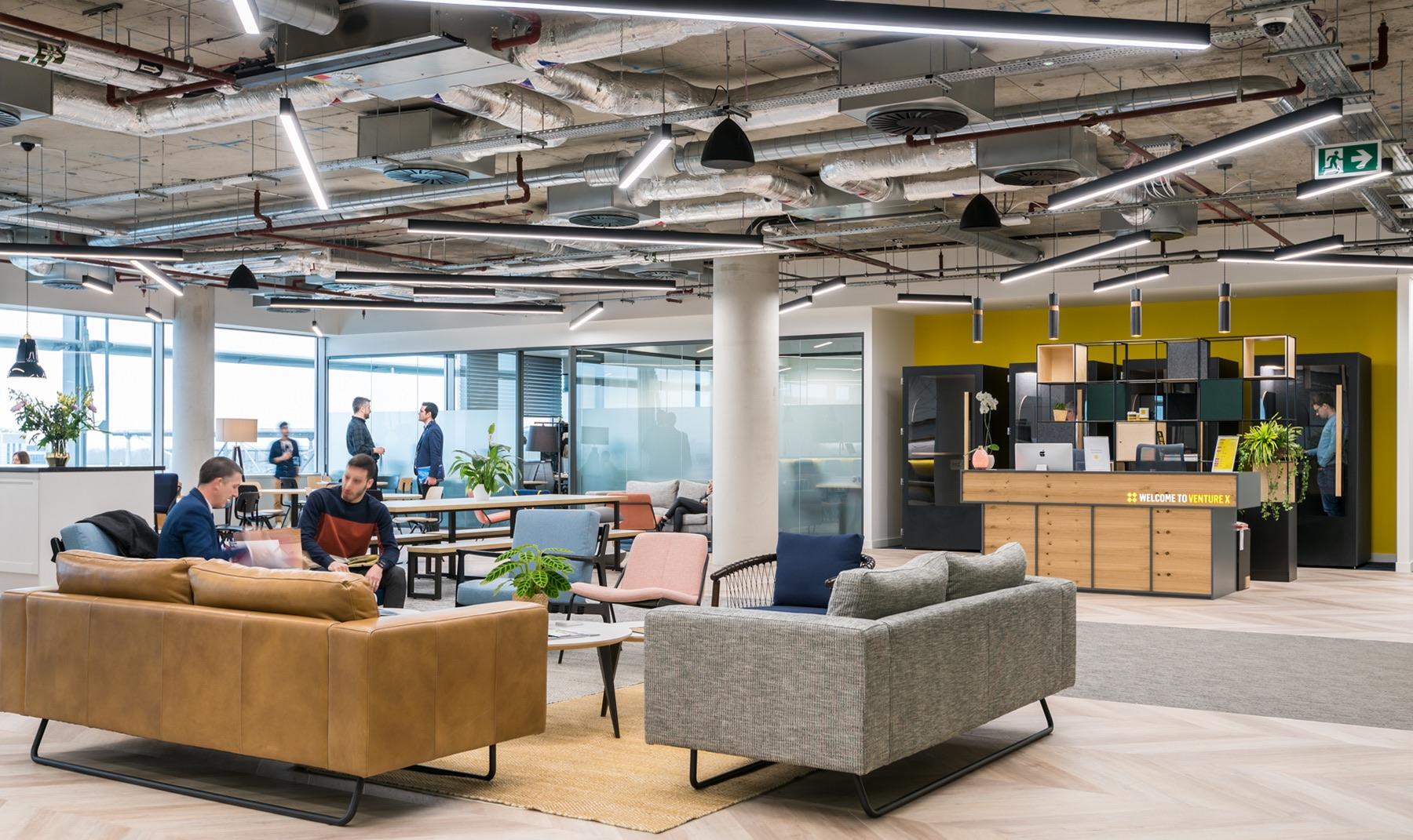 A Look Inside Venture X's New London Office