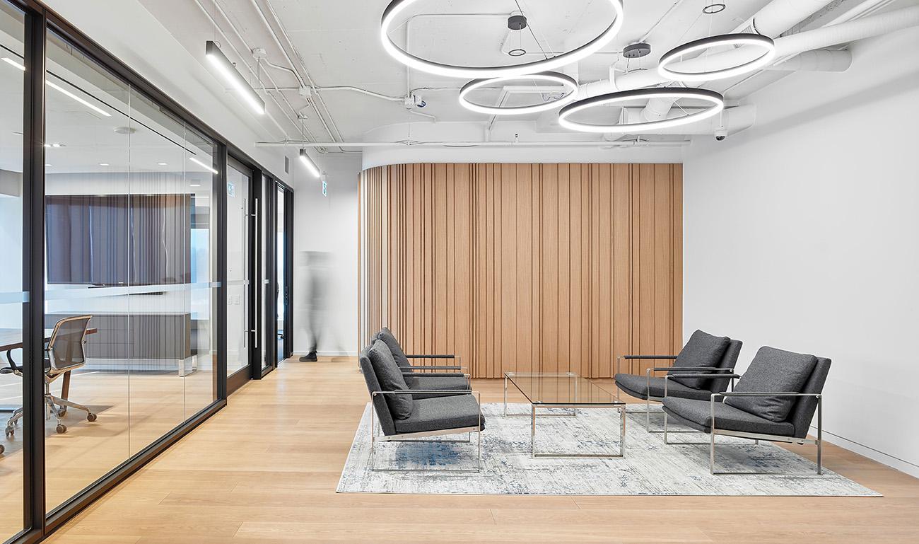 A Peek Inside Waypoint's Minimalist Toronto Office