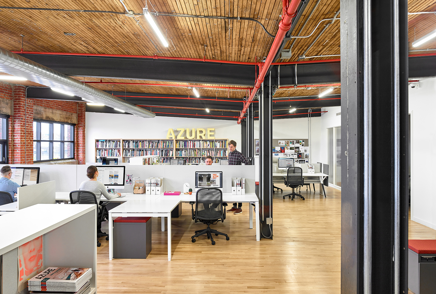 A Tour of Azure Publishing's New Toronto Headquarters