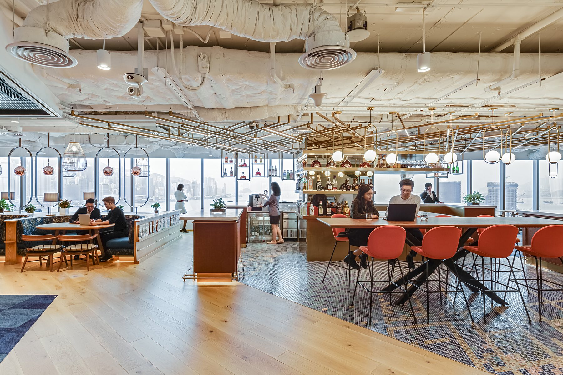 A Look Inside Pernod Ricard's New Hong Kong Office