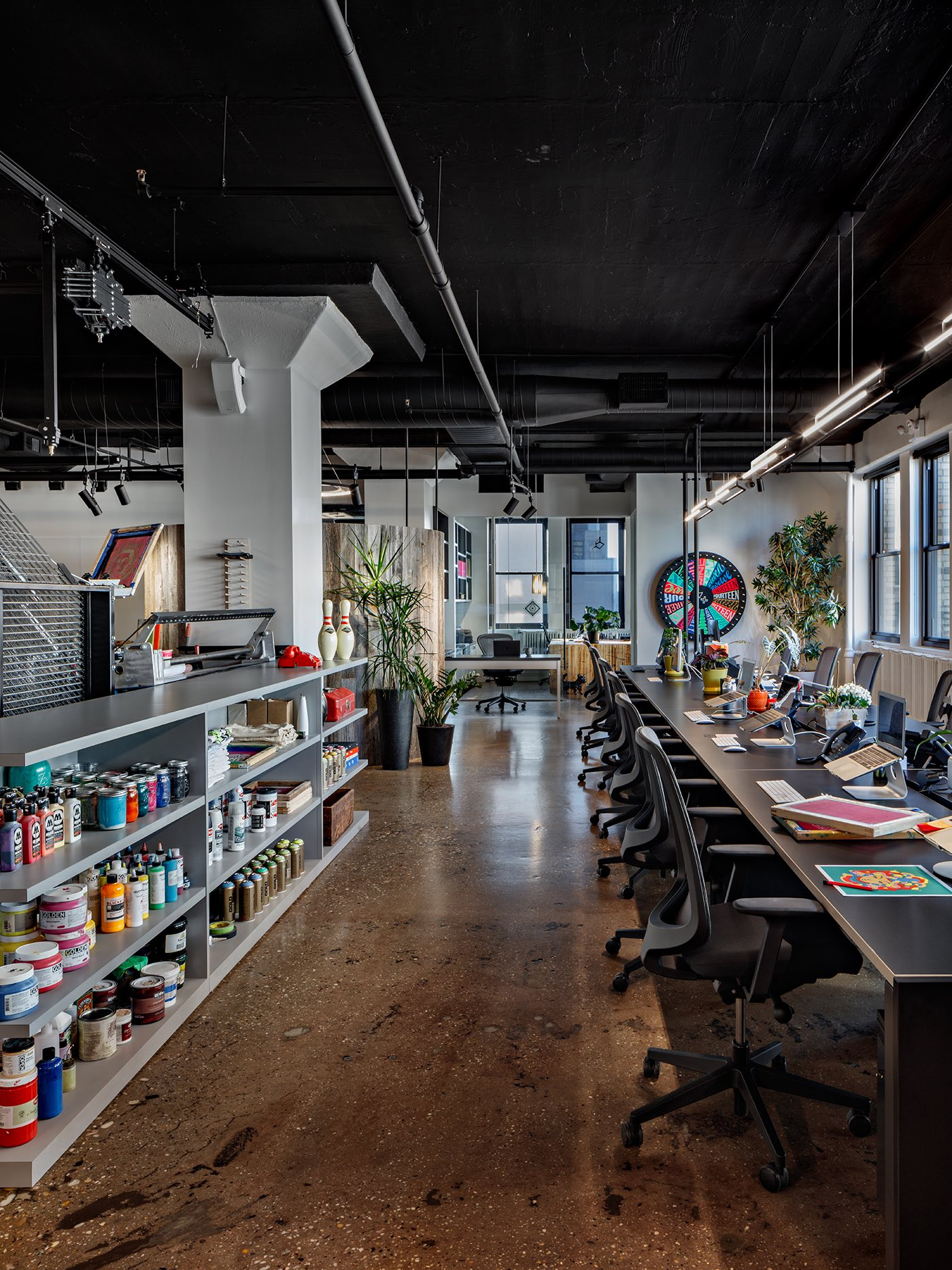 A Tour Of Vault49's Modern New NYC Office
